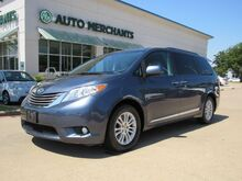 2017_Toyota_Sienna_XLE 8-Passenger,Sun/Moonroof,Leather,Back-Up Camera,Blind Spot Monitor, Bluetooth Connection_ Plano TX