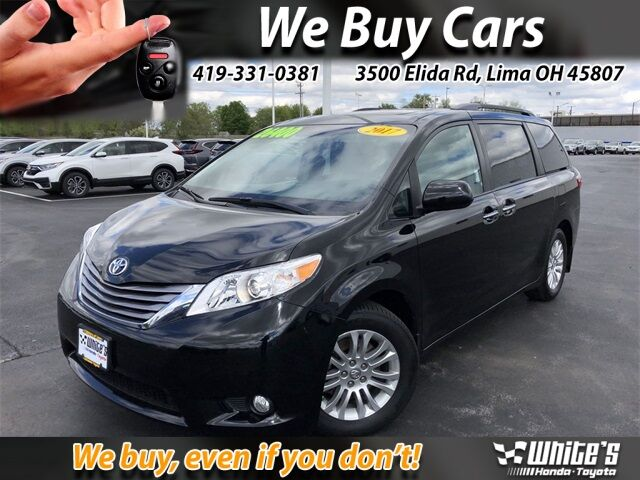 2017 Toyota Sienna XLE Lima OH