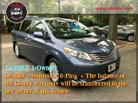 2017_Toyota_Sienna_XLE Premium_ Arlington VA