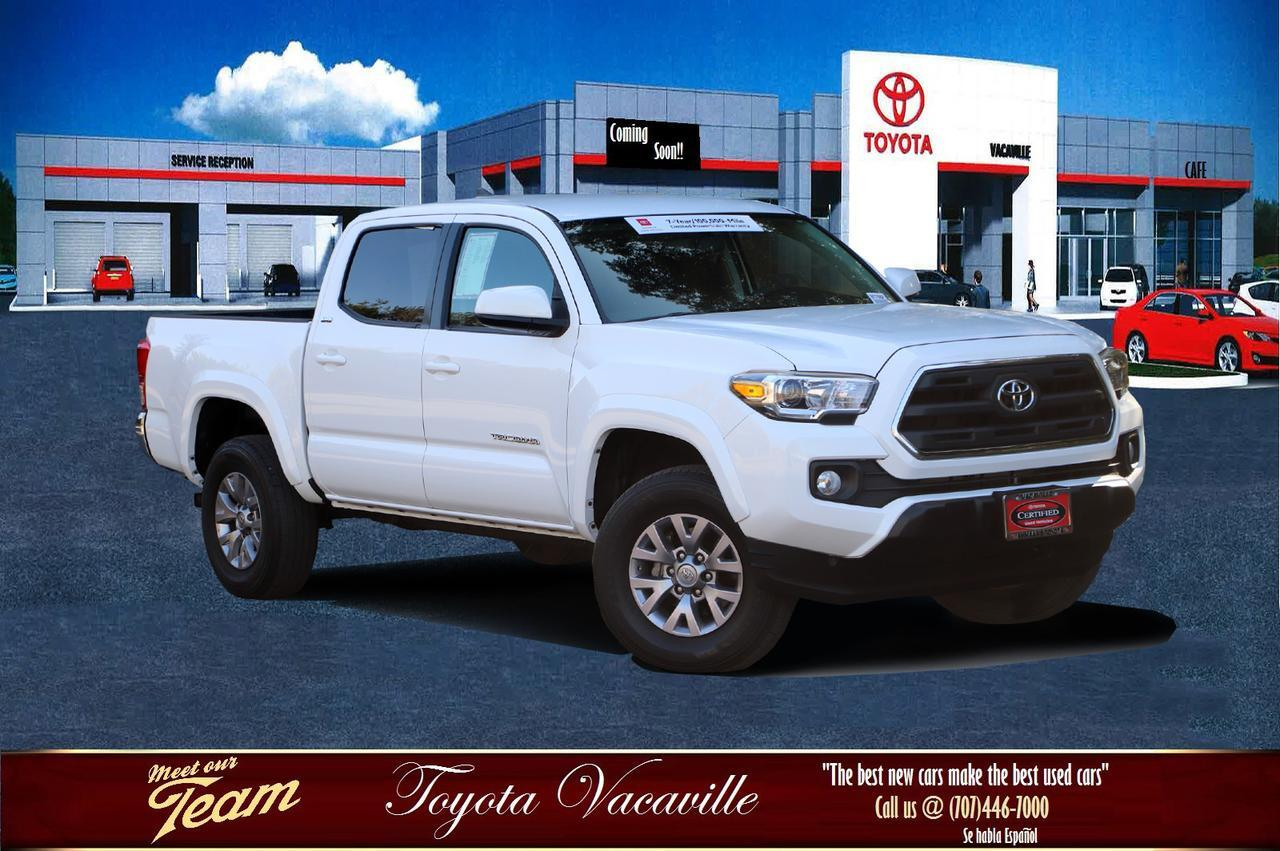 2017 Toyota TACOMA DOUBLE CAB SR5 Pickup  5 ft