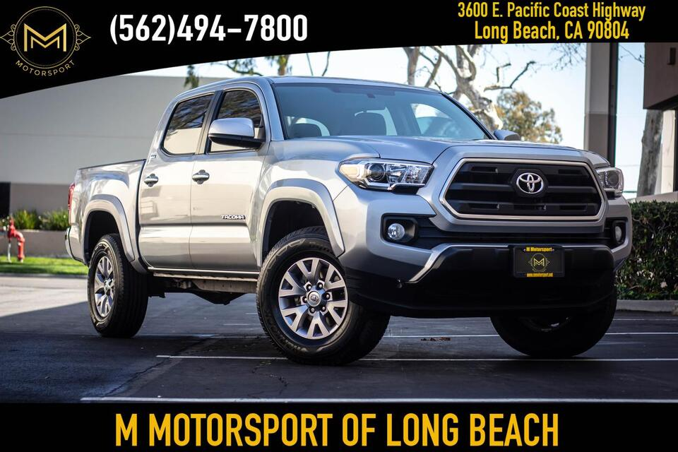 2017_Toyota_Tacoma Double Cab_SR5 Pickup 4D 5 ft_ Long Beach CA