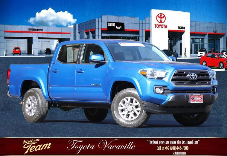 2017 Toyota Tacoma Double Cab Sr5 Pickup  5 Ft Vacaville CA