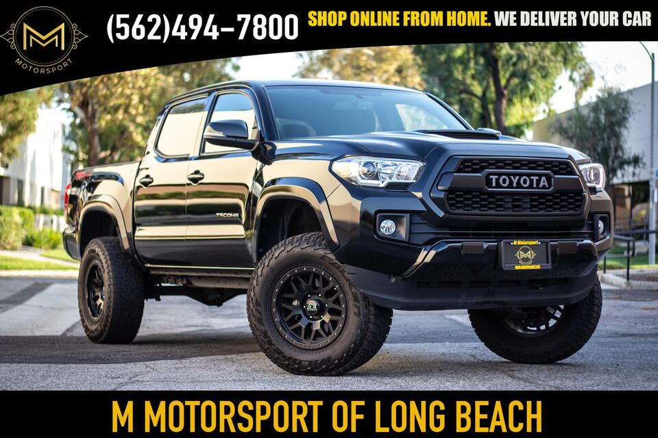 2017_Toyota_Tacoma Double Cab_TRD Sport Pickup 4D 5 ft_ Long Beach CA