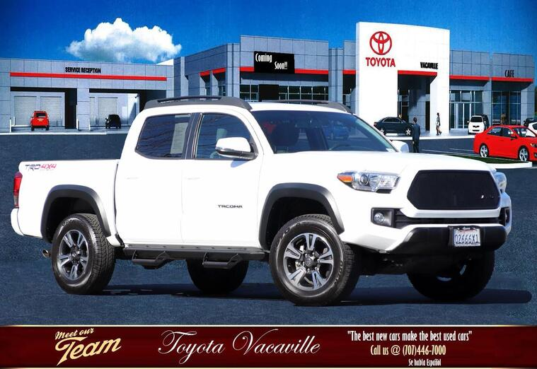 2017 Toyota Tacoma Double Cab Trd Off-road Pickup  5 Ft Vacaville CA