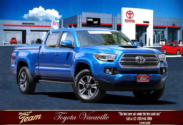 2017 Toyota Tacoma Double Cab Trd Sport Pickup  6 Ft Vacaville CA