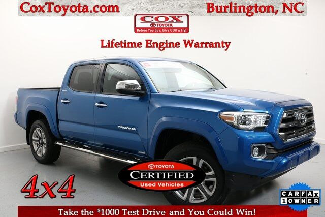 2017 Toyota Tacoma Limited Burlington NC