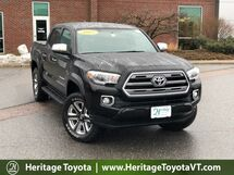 2017 Toyota Tacoma Limited Double Cab 5' Bed V6 4x4 AT South Burlington VT