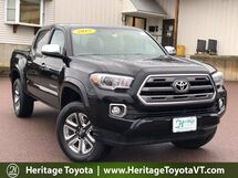 2017 Toyota Tacoma Limited Limited Double Cab 5' Bed V6 4x4 AT South Burlington VT
