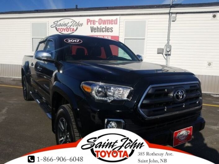 2017 Toyota Tacoma Limited V6, Nav, Brown Leather, Fully Loaded!!! Saint John NB