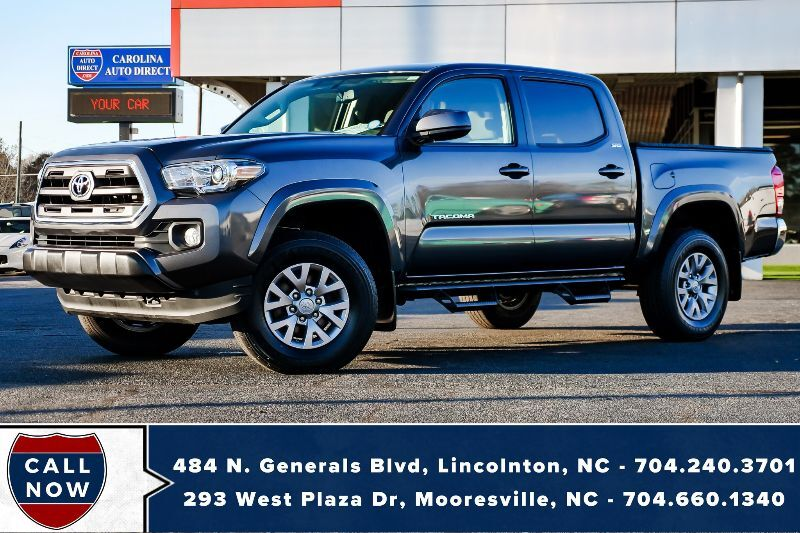 2017 Toyota Tacoma SR5 4X4 *1-Owner* w/ Bed Cover & Back-Up Camera Mooresville NC