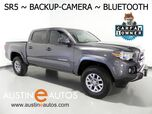 2017 Toyota Tacoma SR5 Double Cab *BACKUP-CAMERA, TOUCH SCREEN, STEERING WHEEL CONTROLS, CRUISE, ALLOY WHEELS, BLUETOOTH PHONE & AUDIO