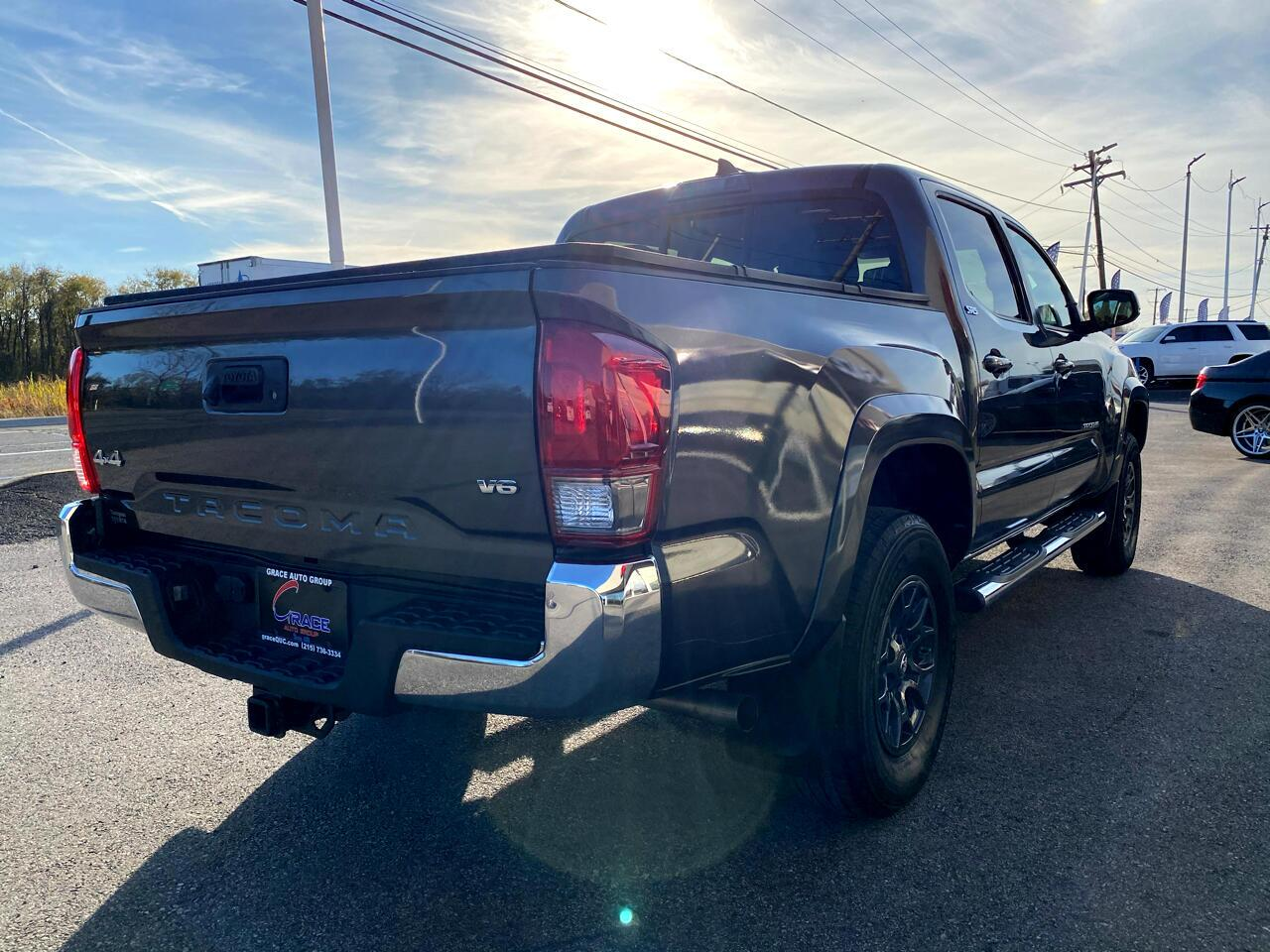 2017 Toyota Tacoma SR5 Double Cab Long Bed V6 6AT 4WD Morrisville PA