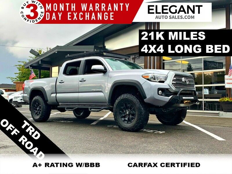 2017 Toyota Tacoma TRD OFF ROAD 4X4 ONE OWNER LONG BED