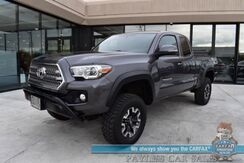 2017_Toyota_Tacoma_TRD Off Road / 4X4 / Ext'd Cab / Premium & Technology Pkg / Lifted / Automatic / Auto Start / Heated Seats / Seats 4 / Navigation / Blind Spot Alert / Bluetooth / Back Up Camera / Cruise Control / Tonneau Cover / Bed Liner / Tow Pkg_ Anchorage AK