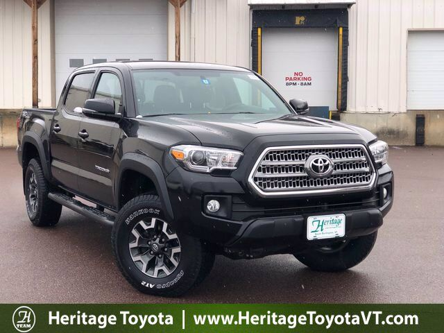 2017 Toyota Tacoma TRD Off-Road Double Cab 5' Bed V6 4x4 AT South Burlington VT
