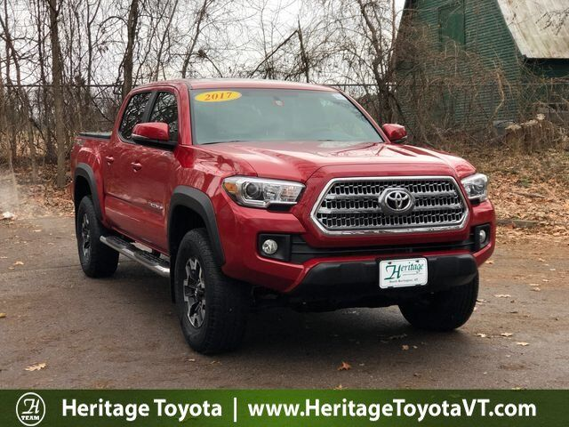 2017 Toyota Tacoma TRD Off-Road Double Cab 5' Bed V6 4x4 AT