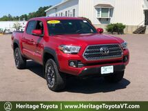 2017 Toyota Tacoma TRD Off-Road TRD Off Road Double Cab 5' Bed V6 4x4 MT South Burlington VT