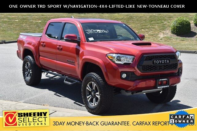 2017 Toyota Tacoma Lifted >> Used 2017 Toyota Tacoma Trd Sport Lifted Navigation Like New In