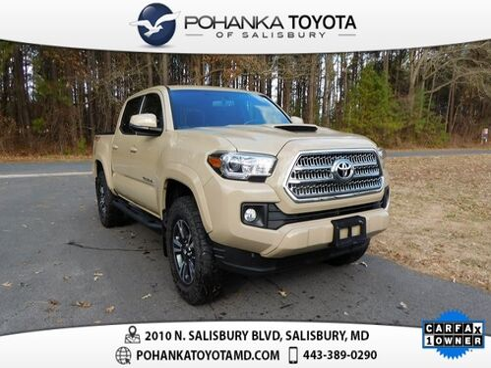 2017_Toyota_Tacoma_TRD Sport CERTIFIED_ Salisbury MD