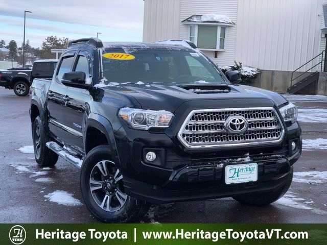 2017 Toyota Tacoma TRD Sport Double Cab 5' Bed V6 4x4 AT South Burlington VT