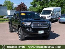 2017 Toyota Tacoma TRD Sport Double Cab 5' Bed V6 4x4 MT South Burlington VT