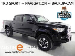2017_Toyota_Tacoma TRD Sport_*NAVIGATION, BACKUP-CAMERA, TOUCH SCREEN, KEYLESS START, ALLOY WHEELS, BLACKOUT PKG, TONNEAU COVER, BLUETOOTH PHONE & AUDIO_ Round Rock TX