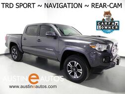 2017_Toyota_Tacoma TRD Sport_*NAVIGATION, BACKUP-CAMERA, TOUCH SCREEN, KEYLESS START, ALLOY WHEELS, TOW PKG, BLUETOOTH PHONE & AUDIO_ Round Rock TX