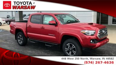 2017_Toyota_Tacoma_TRD Sport_ Warsaw IN