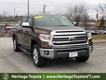 2017 Toyota Tundra 1794 Edition CrewMax 5.5' Bed 5.7L South Burlington VT