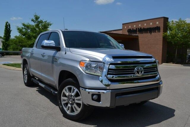 2017 Toyota Tundra 4WD Rare 1794 Edition/Local Trade/4X4/Navigation/Back Up Camera/Heated&Cooled Seats/JBL Audio/Running Boards/Low Miles! Nashville TN
