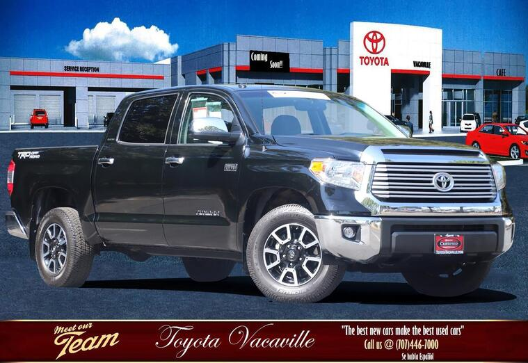 2017 Toyota Tundra Crewmax Limited Pickup  5 1/2 Ft Vacaville CA