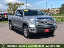 2017 Toyota Tundra Limited Double Cab 6.5' Bed 5.7L South Burlington VT