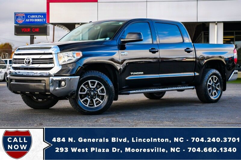 2017 Toyota Tundra SR5 4X4 V8 *Crewmax* w/ Leather Kit & Back-Up Camera Mooresville NC