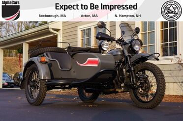 2017_Ural_Gear Up_2WD Asphalt Grey Custom_ Boxborough MA