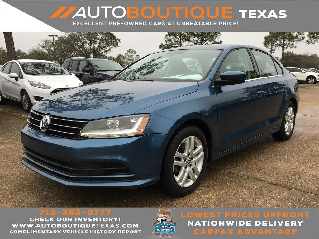 2017 VOLKSWAGEN JETTA 1.4T S S Houston TX