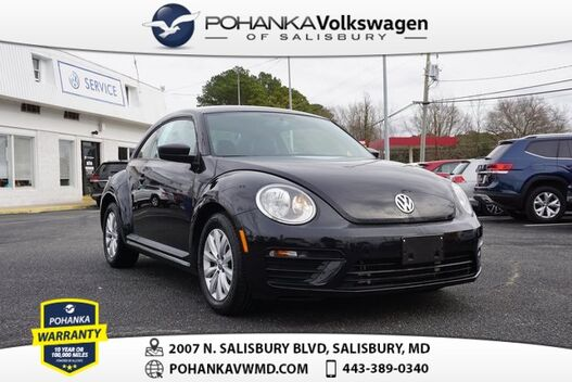 2017_Volkswagen_Beetle_1.8T S ** ONE OWNER ** LEATHER **_ Salisbury MD
