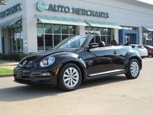 2017_Volkswagen_Beetle_1.8T S Convertible, BACK-UP CAMERA, BLUETOOTH, HEATED SEATS_ Plano TX