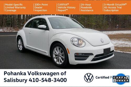 2017_Volkswagen_Beetle_1.8T SE ** VW CERTIFIED ** BUMPER TO BUMPER WARRANTY **_ Salisbury MD
