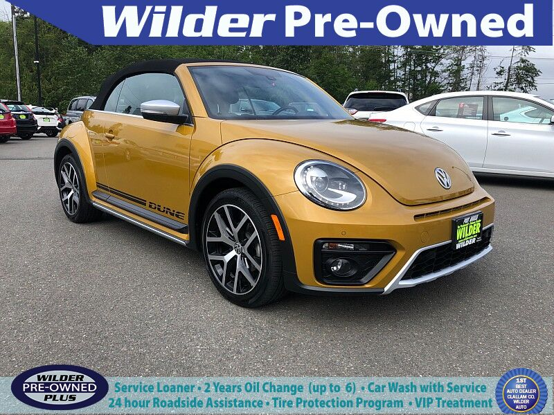 2017 Volkswagen Beetle 2d Convertible 1.8T Dune Port Angeles WA