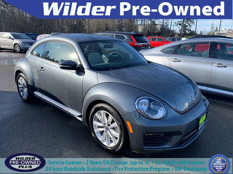 2017 Volkswagen Beetle 2d Coupe 1.8T S Port Angeles WA