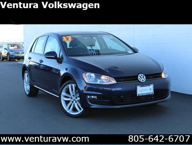 2017 Volkswagen Golf 1.8T 4-Door SEL Auto