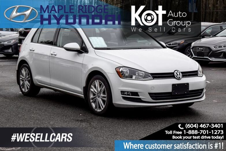 2017 Volkswagen Golf 5dr HB Auto 1.8 TSI Highline Maple Ridge BC