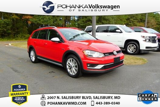 2017_Volkswagen_Golf Alltrack_S 4Motion  ** GREAT BUY ** AWD ** CLEAN CARFAX **_ Salisbury MD