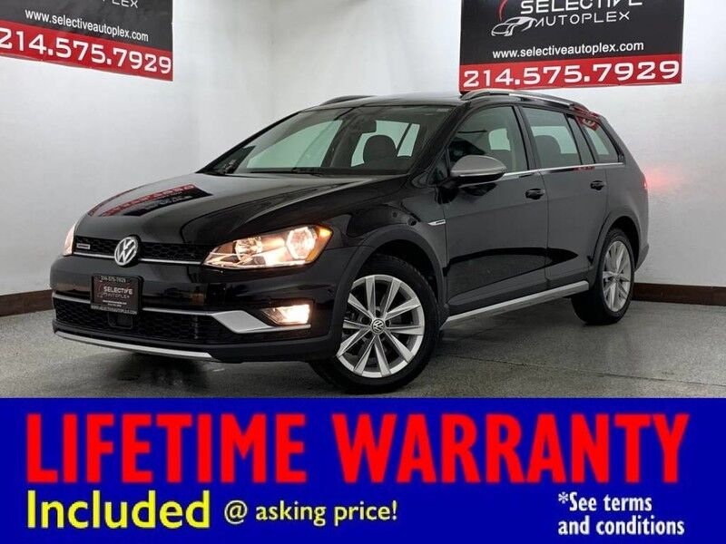 2017 Volkswagen Golf Alltrack S AWD, LEATHER SEATS, PANO ROOF, REAR VIEW CAM Carrollton TX