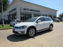 2017_Volkswagen_Golf Alltrack_TSI SE 6A LEATHER, PANORAMIC SUNROOF, BACKUP CAMERA, HTD FRONT SEATS, CLIMATE CONTROL, KEYLESS START_ Plano TX