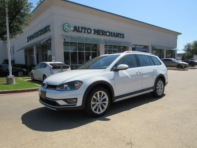 2017 Volkswagen Golf Alltrack TSI SE 6A LEATHER, PANORAMIC SUNROOF, BACKUP CAMERA, HTD FRONT SEATS, CLIMATE CONTROL, KEYLESS START Plano TX