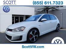 2017 Volkswagen Golf GTI 2.0T 4-Door DSG