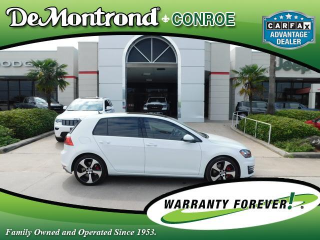 2017 Volkswagen Golf GTI 2.0T 4-Door SE Manual Conroe TX