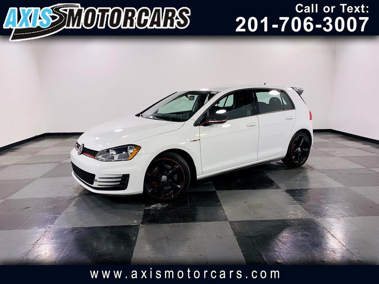 2017 Volkswagen Golf GTI 2.0T 4-Door w/Backup Camera Jersey City NJ