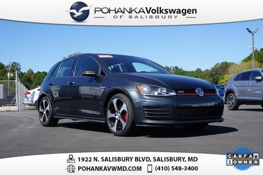2017_Volkswagen_Golf GTI_S ** 0% FINANCING AVAILABLE **_ Salisbury MD